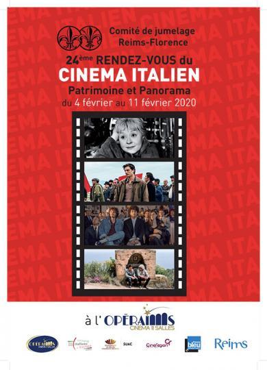 affiche 24 Rendez vous du cinéma Italien