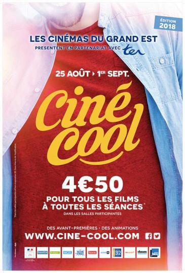 affiche programmation Ciné Cool 2018