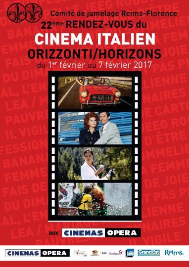 affiche 22e rendez-vous du cinéma italien