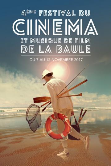 affiche Vladimir Cosma au Festival du Cinéma et Musique de Film de la Baule du 7 au 12 novembre 2017