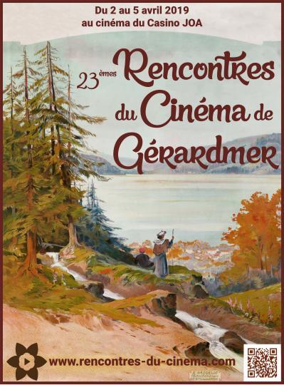 affiche 23 Rencontre Cinéma de Gérardmer 2019
