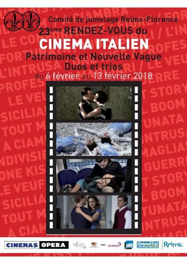 affiche 23ème Rendez-vous du cinéma italien
