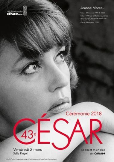affiche Cérémonie des Césars  2018