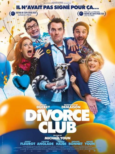 affiche Avant Première Divorce Club