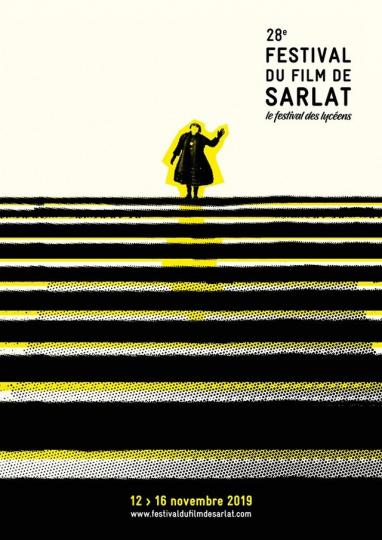 affiche 28 Festival du cinéma de Sarlat Tour du monde
