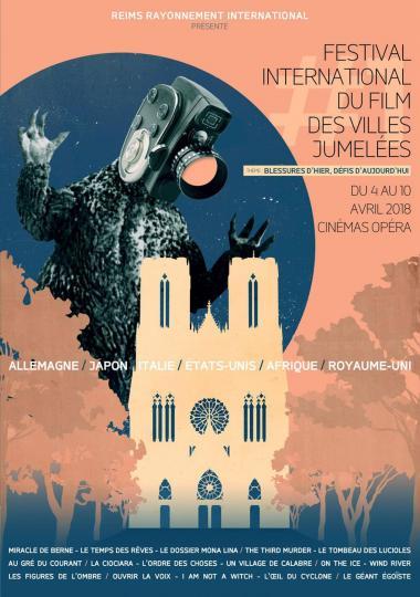 affiche Festival International du film des villes Jumelées