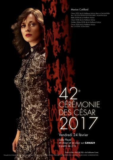 affiche Palmarès des César 2017