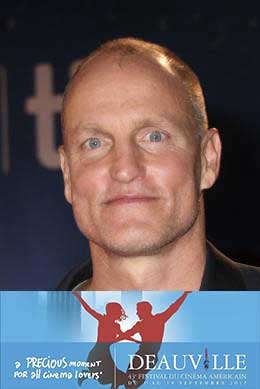 affiche Woody Harrelson hommage