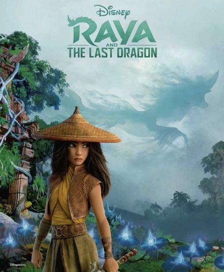 illustration de Raya et le dernier dragon