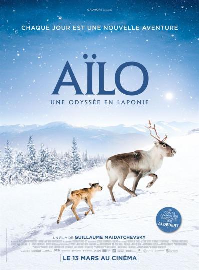 affiche Ciné Région Aïlo - une odyssée en Laponie 1