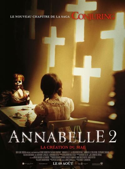 affiche Annabelle 2 - la Création du Mal