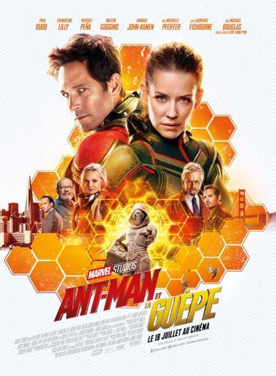 affiche Ant Man et la Guêpe
