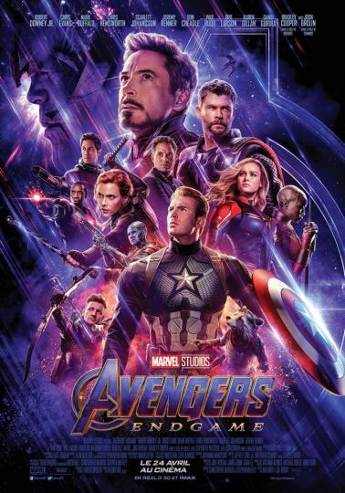 affiche Avengers- Endgame