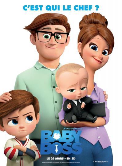 affiche Baby Boss
