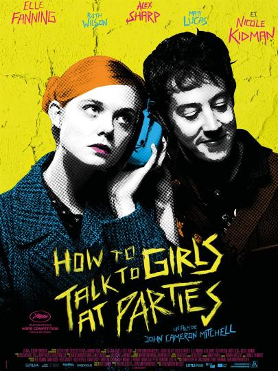 affiche How To Talk To Girls At Parties