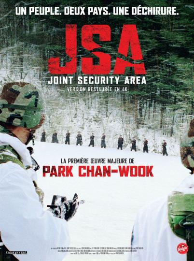 affiche JSA Joint Security Area