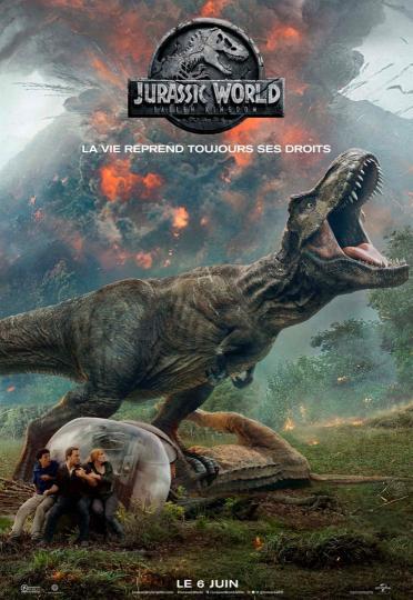 affiche Jurassic World- Fallen Kingdom