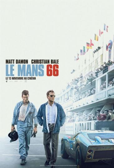 affiche du film Le Mans 66