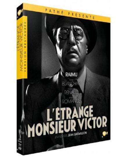 affiche L'étrange Monsieur Victor