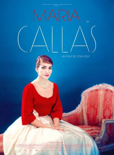 affiche Maria by Callas