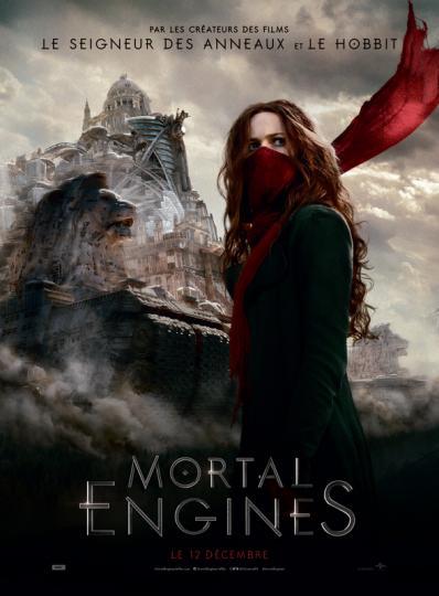 affiche du film Mortal Engines