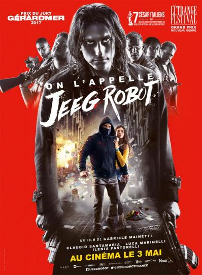 affiche On l'appelle Jeeg Robot