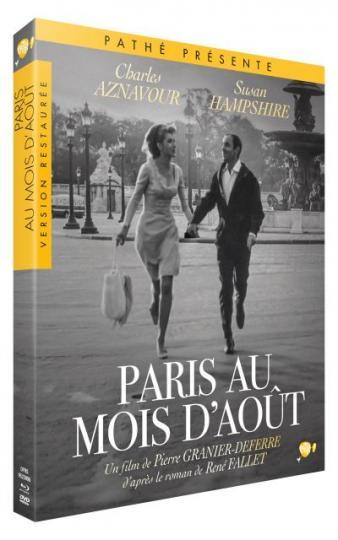 affiche Paris au mois d'aout