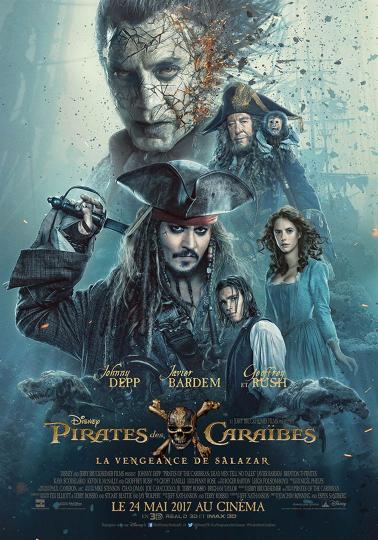affiche Pirates des Caraïbes  La Vengeance de Salazar