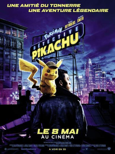 affiche Pokémon Détective Pikachu