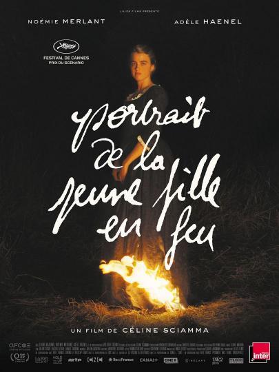 affiche Portrait de la fille en feu