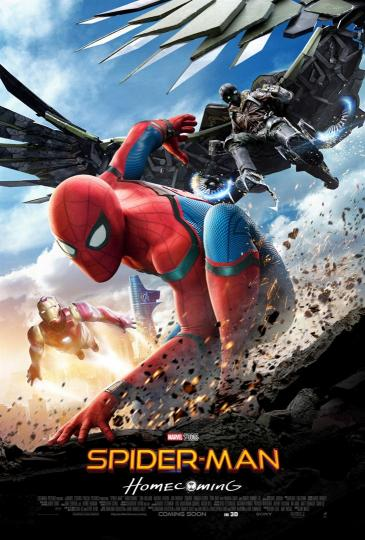 affiche Spider-Man Homecoming