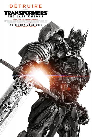 affiche Transformers - The Last Knight