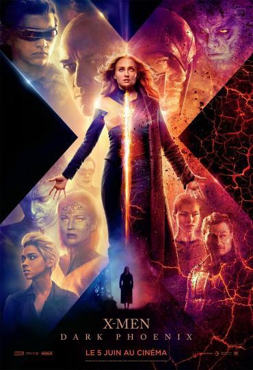 affiche X-Men Dark Phoenix