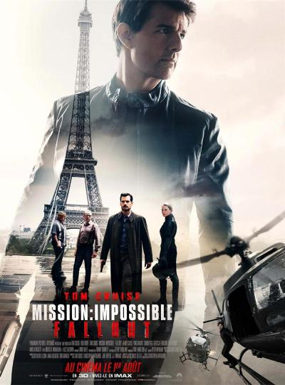 affiche Mission Impossible Fallout