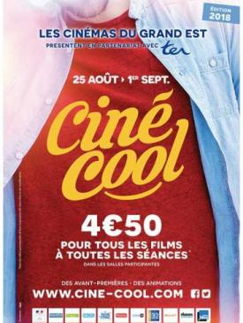 affiche du film programmation Ciné Cool 2018