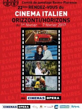 affiche du film 22e rendez-vous du cinéma italien