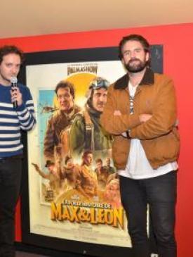 """affiche du film Avant-première """" La folle histoire de Max et Léon """""""