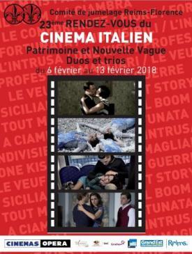 affiche du film 23ème Rendez-vous du cinéma italien