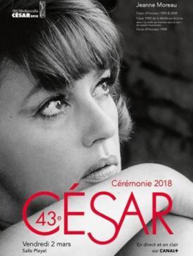 affiche du film Cérémonie des Césars  2018