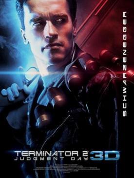affiche du film Terminator 2 3D