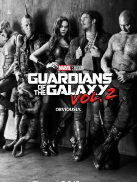 affiche du film Les Gardiens de la Galaxie 2
