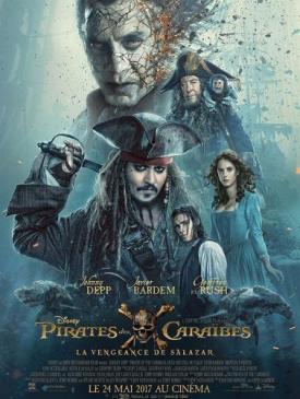 affiche du film Pirates des Caraïbes : La Vengeance de Salazar -
