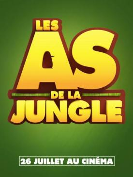 affiche du film Les as de la jungle