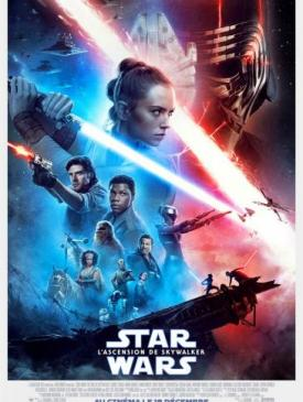 affiche du film Star War L'ascension de Skylwalker