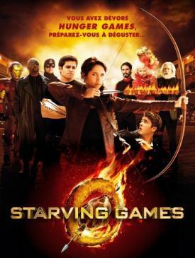 affiche du film STARVING GAMES