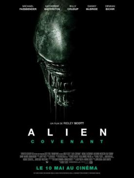 affiche du film Alien Convenant