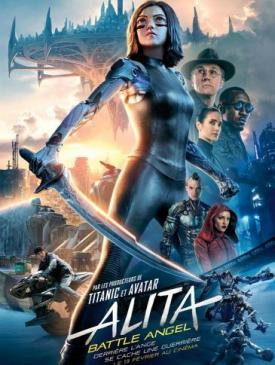 affiche du film Alita : Battle Angel