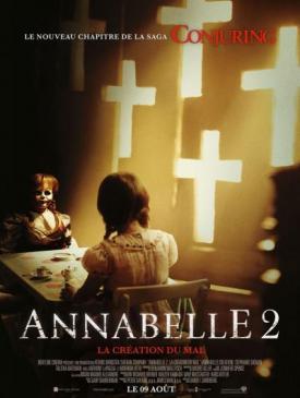 affiche du film Annabelle 2 - la Création du Mal