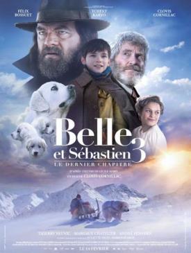 affiche du film Belle et Sébastien 3 - le dernier chapitre