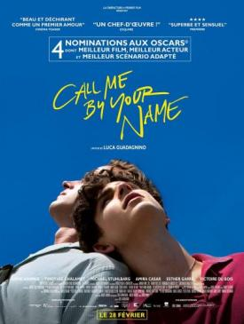 affiche du film Call Me By Your Name